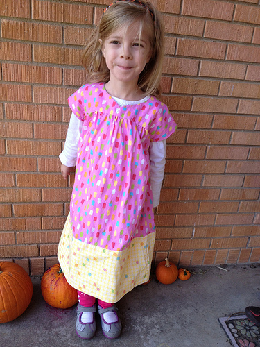 I is for Ice Cream Dress