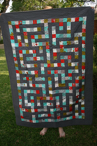 Maze quilt