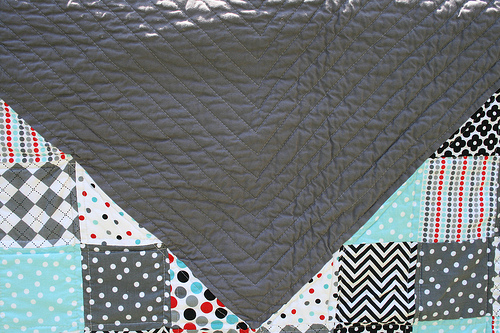Between the points quilting
