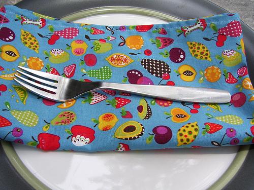 Fruit napkins