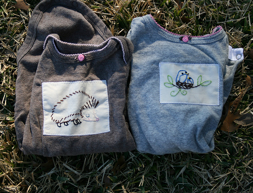 embroidered onesies