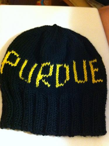 Hunter's Purdue Hat