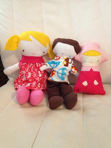 Finished dolls