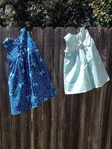 Geranium Dresses - back