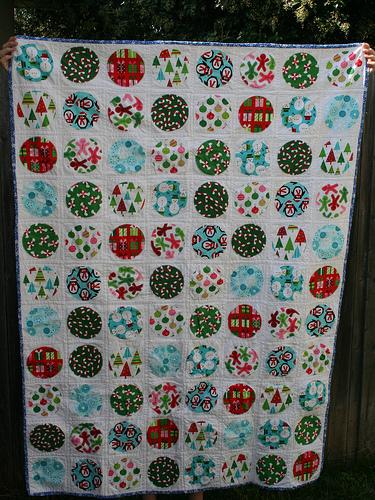 Christmas Circles Quilt