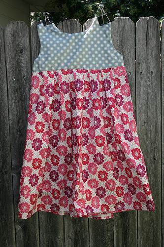 Paper Fan Dress