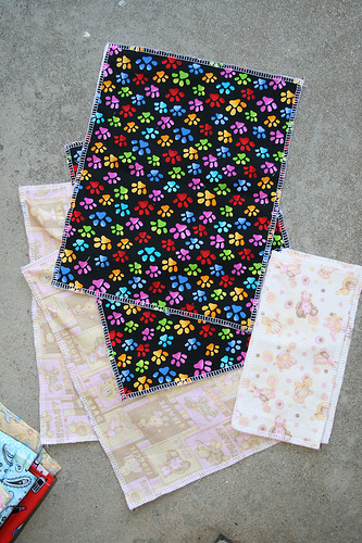 Doll placemats and napkins