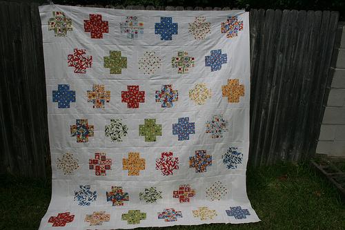 Modern Crosses Quilt