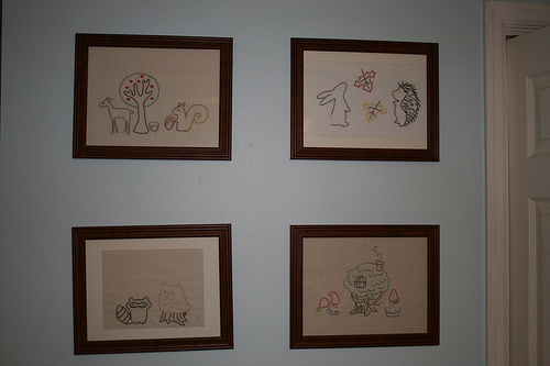 Embroidery in Nursery