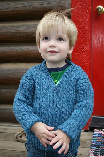 Hunter's sweater