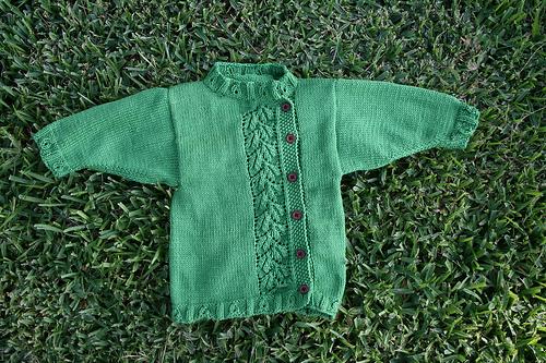 Pea Pod Baby Sweater